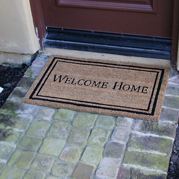 Welcome Home Doormat by Rubber-Cal, Inc.