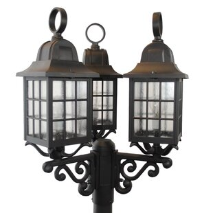Read Reviews Flickinger 3-Light Lantern Head By Darby Home Co