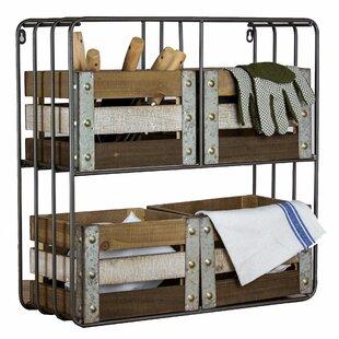 Wood Shelf Organizer U0026 Storage Crate