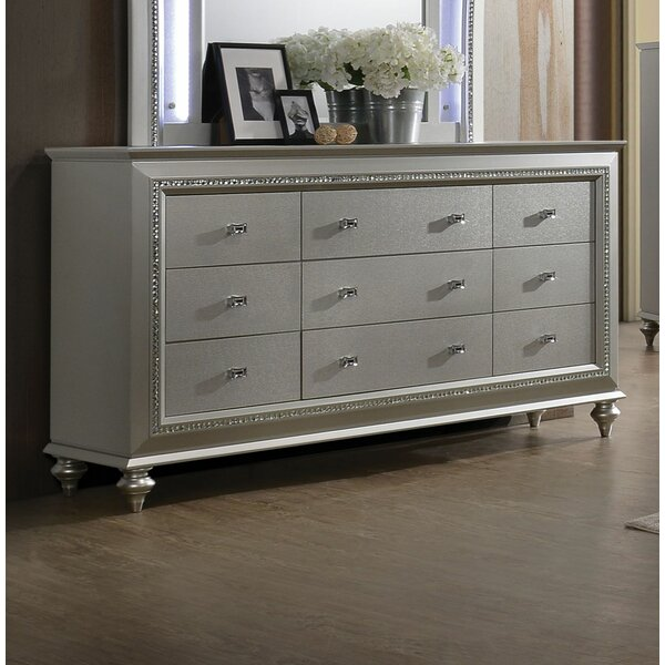 Dehon 5 Drawer Dresser by Rosdorf Park