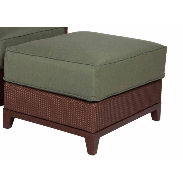 Aberdeen Ottoman with Cushion by Acacia Home and Garden