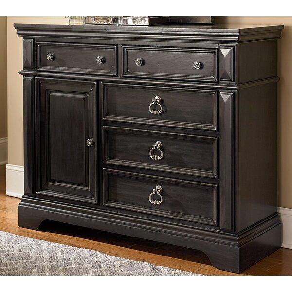 Derrell 5 Drawers Dresser by World Menagerie