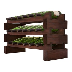 Modular 18 Bottle Floor Wine Rack by Vinotemp