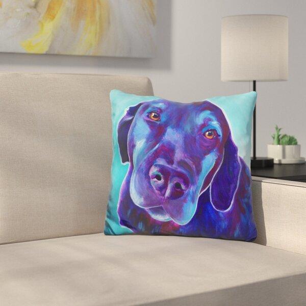 Gus Throw Pillow by East Urban Home