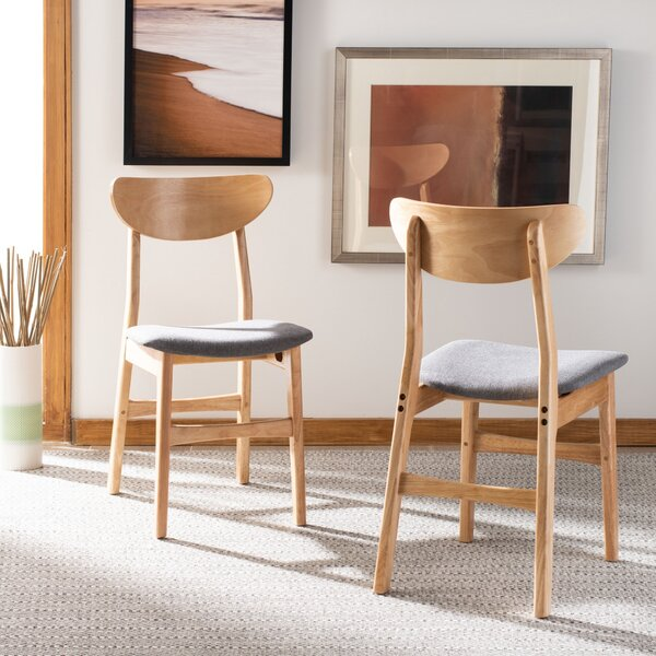 Naiara Upholstered Dining Chair (Set of 2) by Wrought Studio