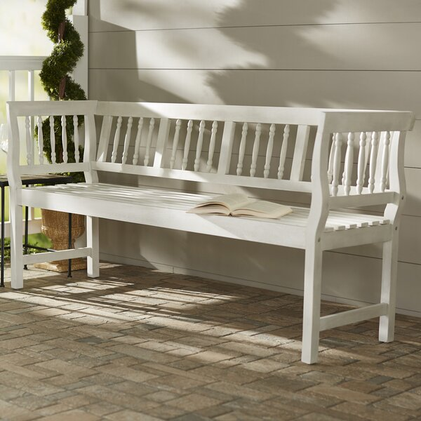Millard Wood Bench by Rosecliff Heights Rosecliff Heights