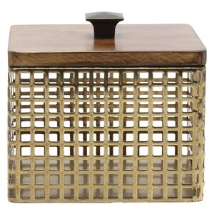 Glenda Perforated Metal Container