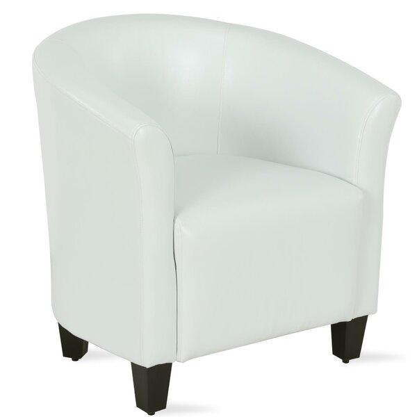 Enrique Barrel Chair by Everly Quinn Everly Quinn