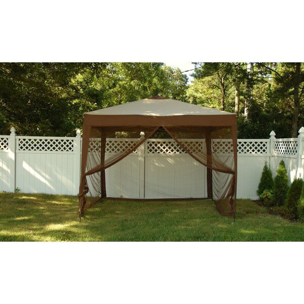 Stow 10 Ft. x 10 Ft. Square Pop-Up Gazebo by Ben and Jonah