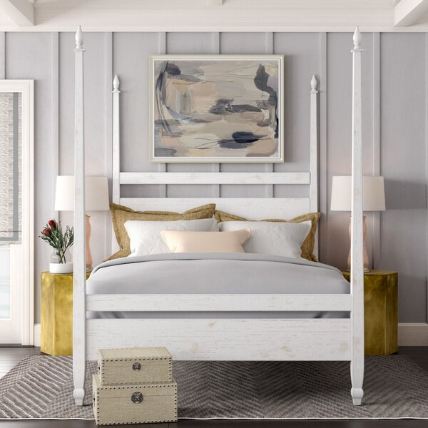 Venice Four Poster Bed by Noir