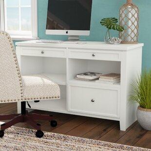 Veda Wood Credenza Desk