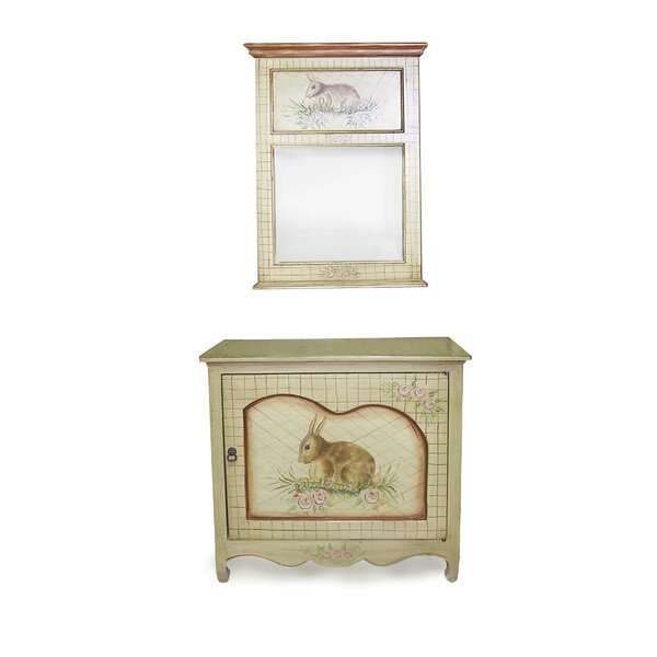 Amidon 1 Door Accent Cabinet By Ophelia & Co.