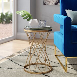 Looking for Osbourne End Table with Glass Top by Mercer41