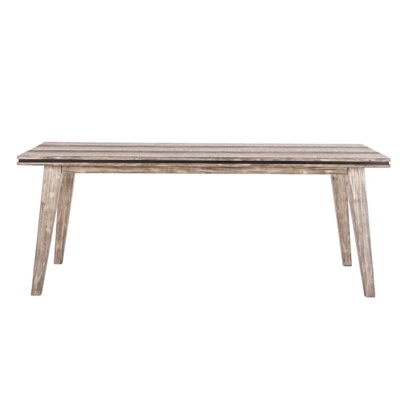 Chronister Solid Wood Dining Table by Gracie Oaks Gracie Oaks