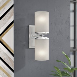 Online Reviews Konen 2-Light Wall Sconce By Zipcode Design