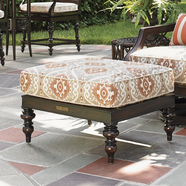 Royal Kahala Ottoman with Cushion by Tommy Bahama Outdoor