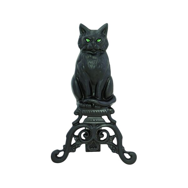 Cat Andirons (Set of 2) by Uniflame Corporation