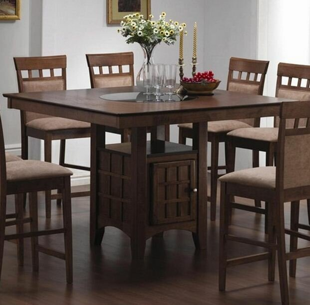 High Dining Room Table Sets. Full Image For Crisscross Counter ...