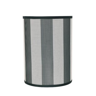 Read Reviews Transitional 8 Fabric Drum Striped Lamp Shade By Brayden Studio