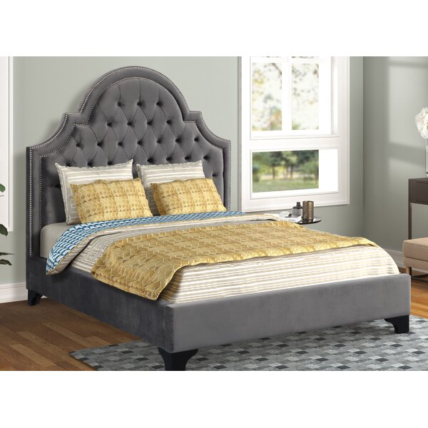 Sevilla Upholstered Alisha Bed by Everly Quinn