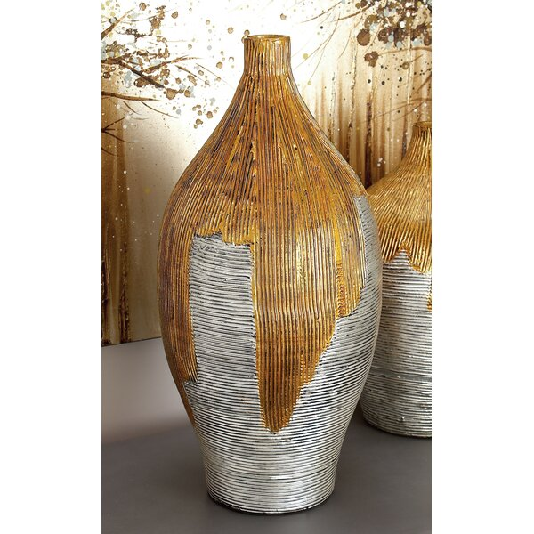 Lacquer Bamboo Vase by Cole & Grey