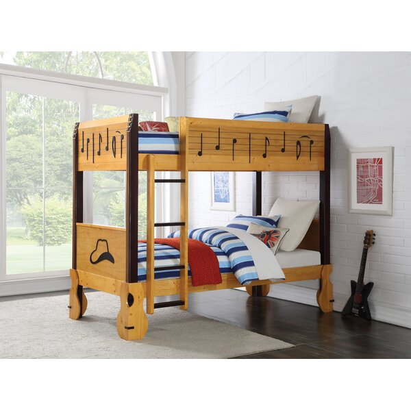 Clopton Twin Over Twin Bunk Bed by Zoomie Kids