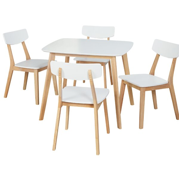 Epps Modern 5 Piece Dining Set by Ebern Designs