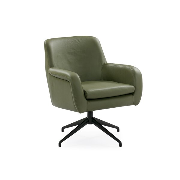 Ebern Designs Leather Chairs