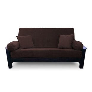 Box Cushion Microsuede Futon Slipcover