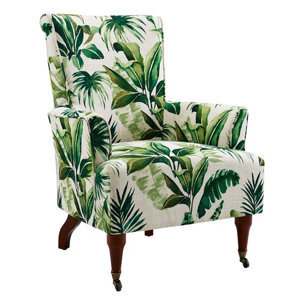 Alison Wooden Armchair by Bayou Breeze
