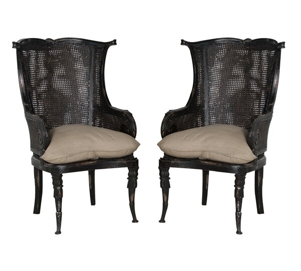 Cairo Barrel Chair (Set of 2) by One Allium Way