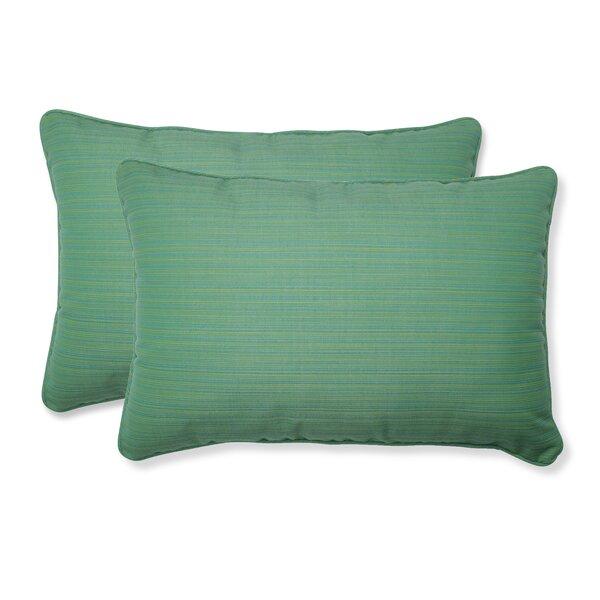 Wolcott Indoor/Outdoor Lumbar Pillow (Set of 2)