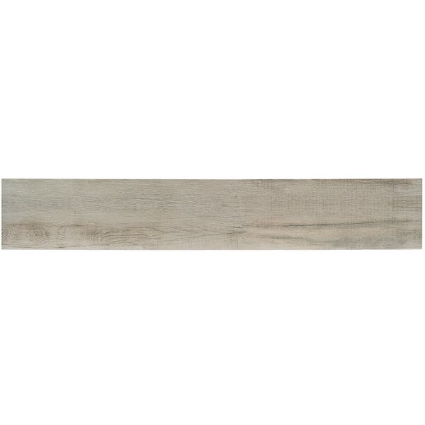 Baiji 8 x 48 Porcelain Wood Look Tile in Moon by Splashback Tile