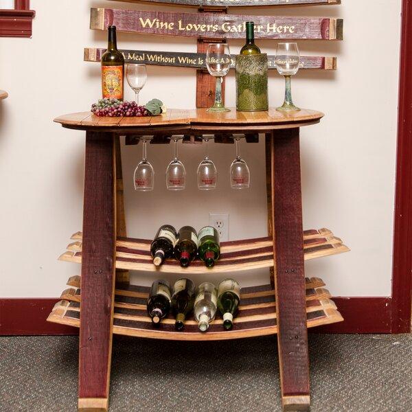 Barrel Head 16 Bottle Floor Wine Rack by Napa East Collection