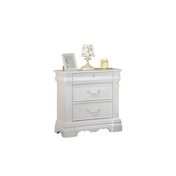 Lytham 3 Drawer Nightstand by Canora Grey