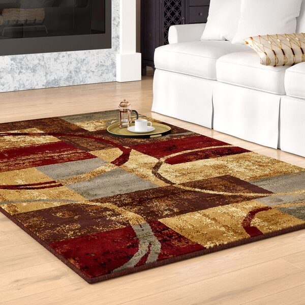Jaidan Brown/Gray Area Rug by Bloomsbury Market