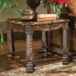 Windsor Court End Table by Michael Amini