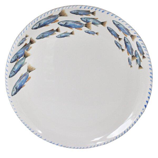 Lake Fish Round Platter by Abbiamo Tutto