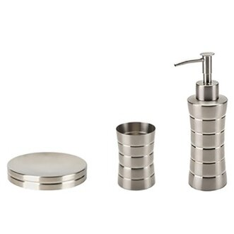 Naos 3-Piece Bathroom Accessory Set by Gedy by Nameeks