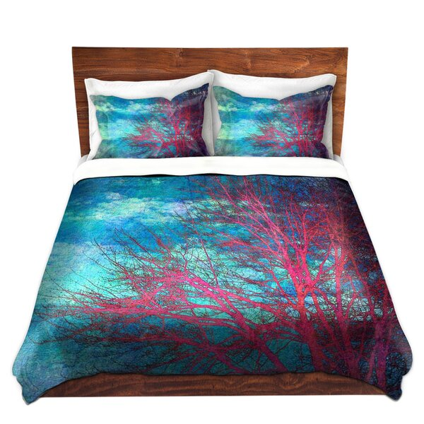 Shenk Sylvia Cook Abstract Tree II Microfiber Duvet Covers