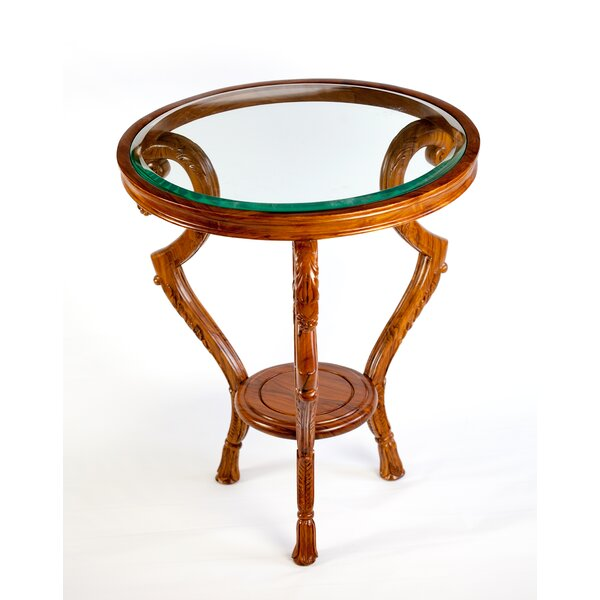 The Silver Teak Glass Top Coffee Tables