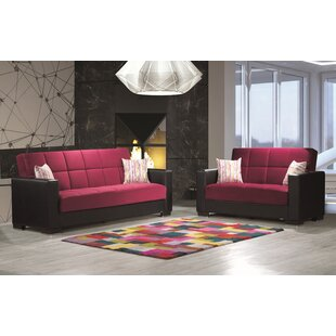 Bhudevi 2 Pieces Living Room Set by Latitude Run®
