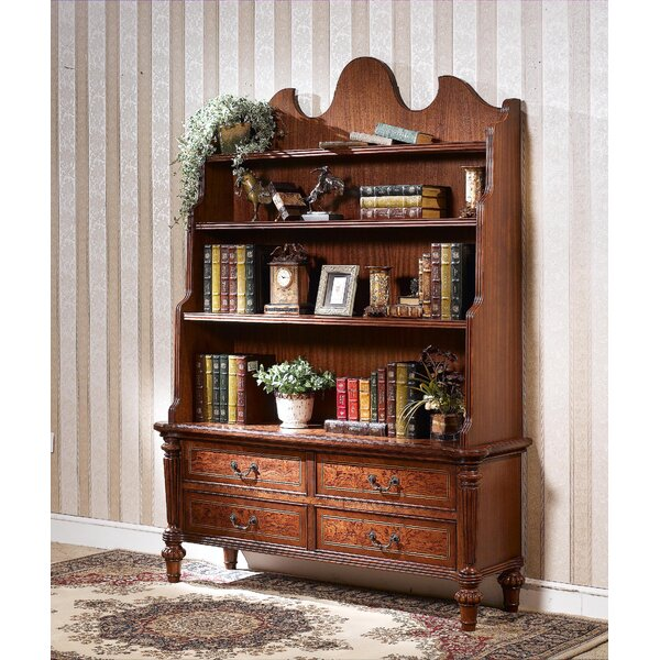 Louis Standard Bookcase By Astoria Grand