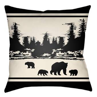 Ebern Designs Fawcett Idaho Flag Black 28 X 28 Floor Pillows Double Sided Print With Concealed Zipper Insert In Poly Twill Double Sided Print Euro Pillow Wayfair
