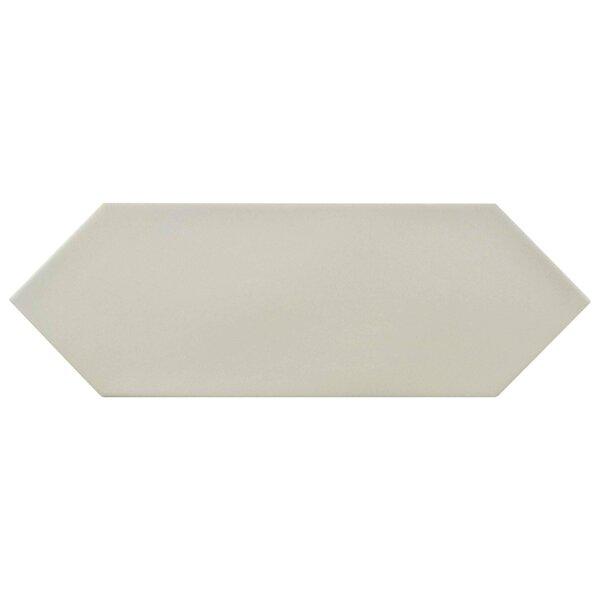 Volant 4 x 11.75 Porcelain Field Tile in Light Gray by EliteTile