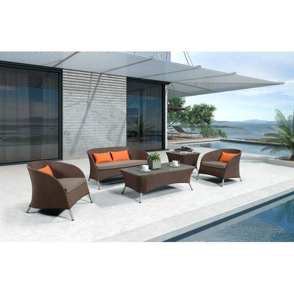 Markowitz 5 Piece Sofa Set with Cushions by Brayden Studio