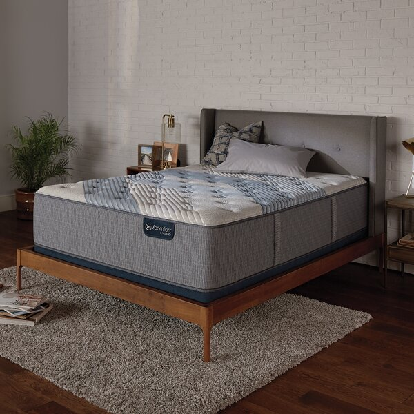iComfort 3000 15 Plush Hybrid Mattress and Box Spring by Serta
