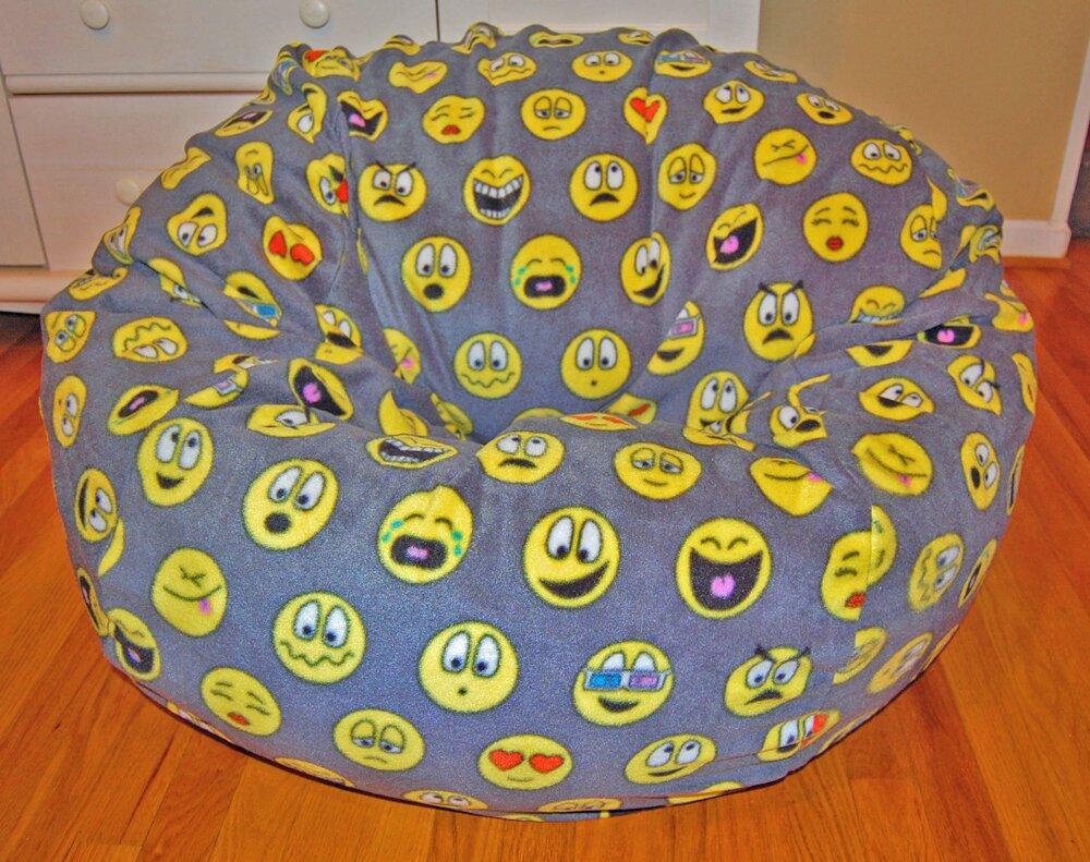 Emojis Bean Bag Chair