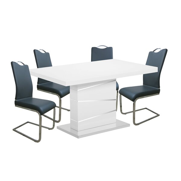 Maes 5 Piece Dining Set by Orren Ellis Orren Ellis