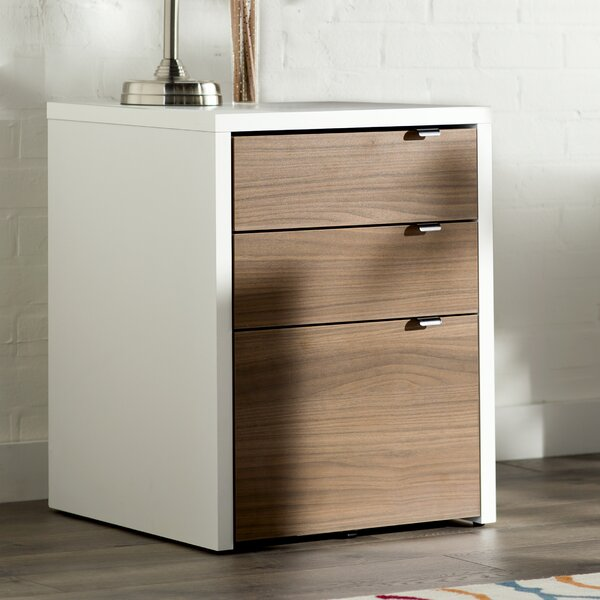 Billy 3-Drawer Vertical Filing Cabinet by Latitude Run